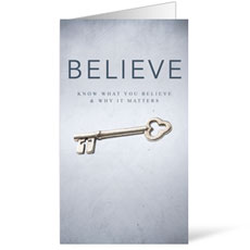 Believe Invite Card