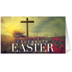 Celebrate Easter Cross InviteCard