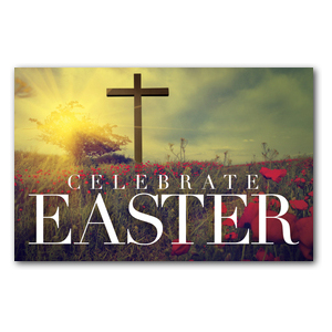 Celebrate Easter Cross InviteCards
