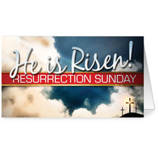 Risen Resurrection InviteCard
