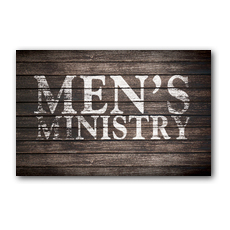 Rustic Charm Men InviteCard