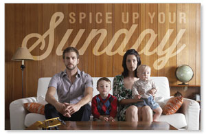Spice Up Sunday InviteCards