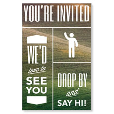 Phrases Welcome InviteCard