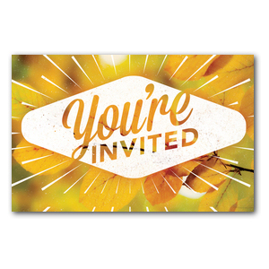 Invited Burst InviteCards