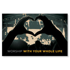 Worshiper Heart InviteCard