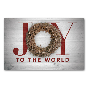 Joy Twig Wreath InviteCards
