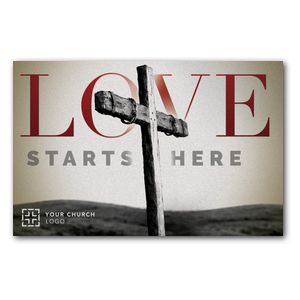 Love Starts Here InviteCards