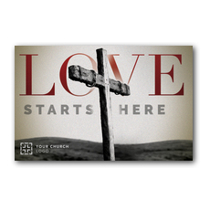 Love Starts Here InviteCard