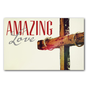 Amazing Love Cross InviteCards