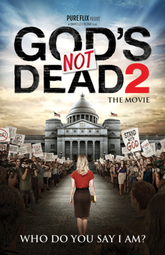 God's Not Dead 2 InviteCard
