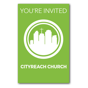 CityReach Green InviteCards