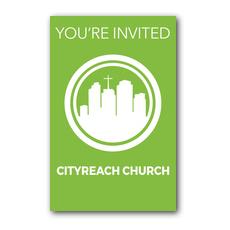 CityReach Green InviteCard