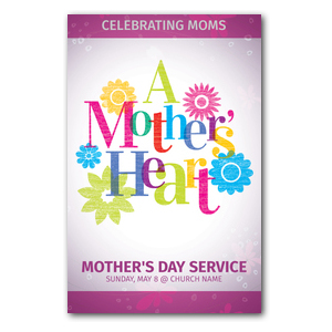 A Mothers Heart Medium InviteCards