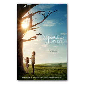 Miracles from Heaven Medium InviteCards