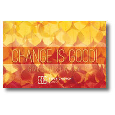 Change Is Good InviteCard