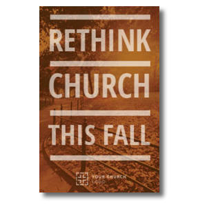 Rethink Church InviteCards