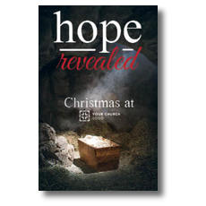 Hope Revealed Manger InviteCard