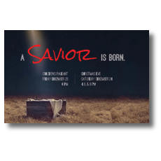 Savior Born InviteCard