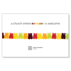 Gummi Bear Welcome InviteCard