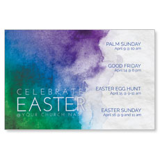 Celebrate Watercolor Easter