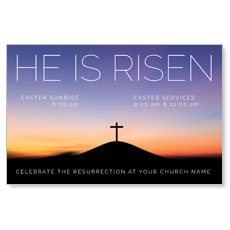 He Is Risen Sunrise InviteCard