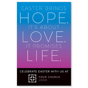 Hope Love Life Medium InviteCards