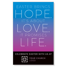 Hope Love Life InviteCard