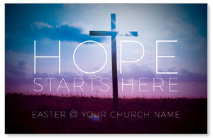 Hope Starts Here InviteCards