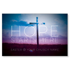 Hope Starts Here InviteCard