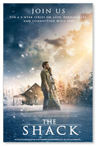 The Shack Movie InviteCards