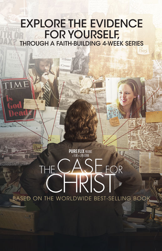 The Case For Christ Movie Invite Card