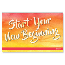 Big Invite New Beginning InviteCard