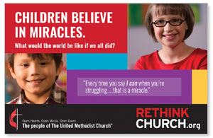 UMC Easter Miracles InviteCards