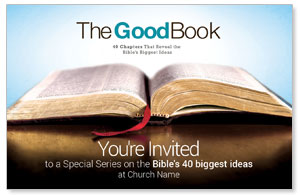 The Good Book InviteCards