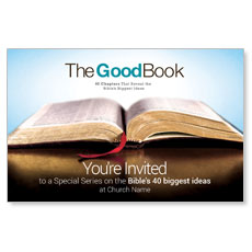 The Good Book InviteCard