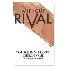 Without Rival InviteCard