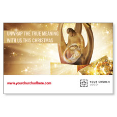 UMC Christmas Gold InviteCard