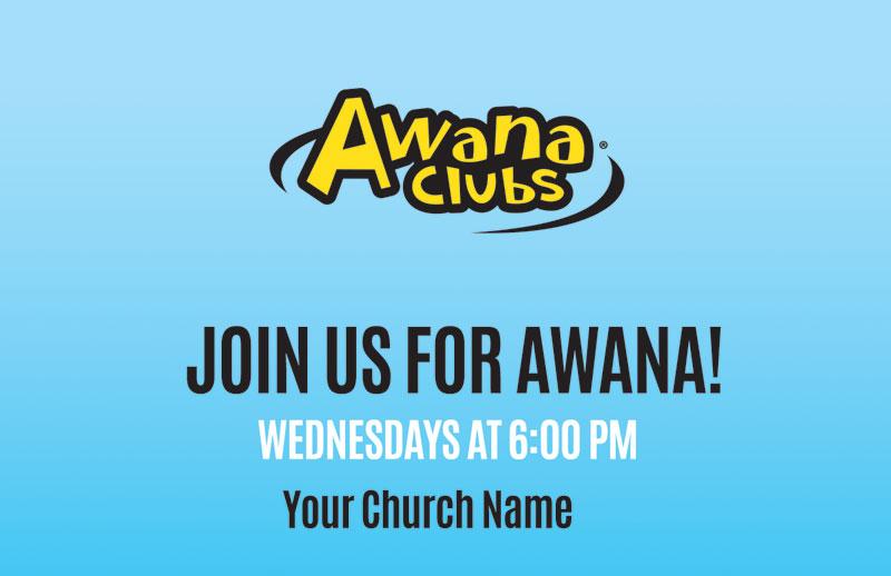 Awana Clubs Invitecard Church Invitations Outreach
