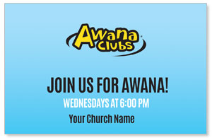 Awana Clubs InviteCards