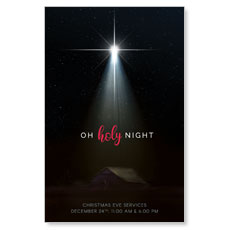 Oh Holy Night InviteCard