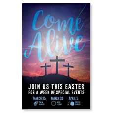 Come Alive Easter Journey InviteCard