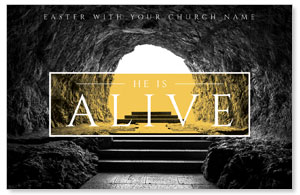 Alive Empty Tomb InviteCards