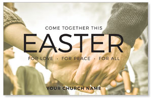 Easter Come Together InviteCards