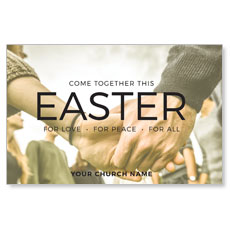Easter Come Together InviteCard