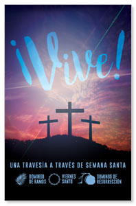 Come Alive Easter Journey Spanish Medium InviteCards