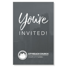 CityReach Skyline Invited InviteCard