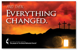 UMC Easter Everything Changed InviteCards
