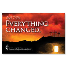 UMC Easter Everything Changed InviteCard