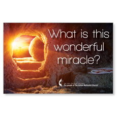 UMC Easter Wonderful Miracle InviteCard