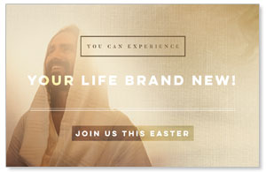 Easter Life Brand New InviteCards